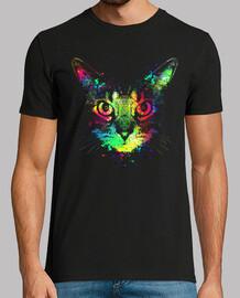 Technicolor Katze