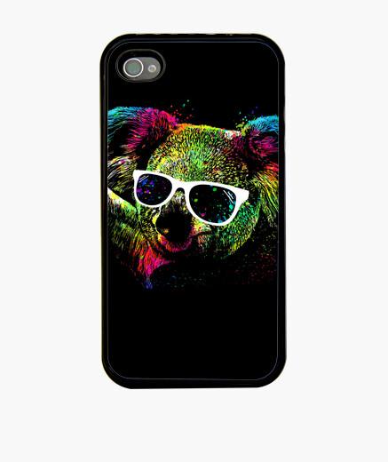 Coque iPhone technicolor koala