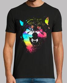 Technicolor Wölfe