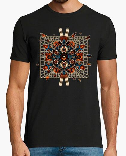 T-shirt techno futuristico