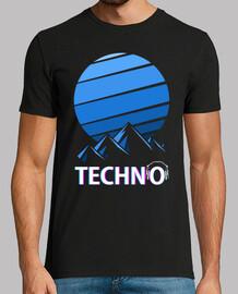 Techno montañas