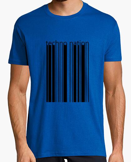 Camiseta techno nation