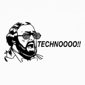 Tee-shirts techno pavarotti