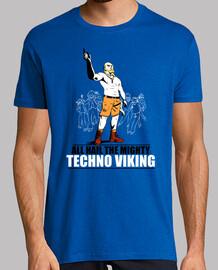 Techno viking (javier style illustration)
