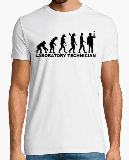 Camiseta técnico de laboratorio evolución