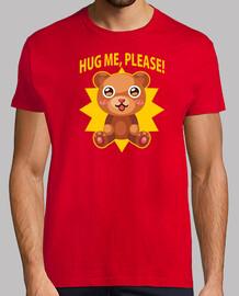Teddy Hug Camiseta Chico