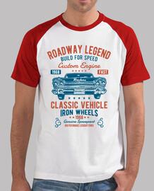 tee-shirt 1968 rétro rockabilly rockers USA rock and roll