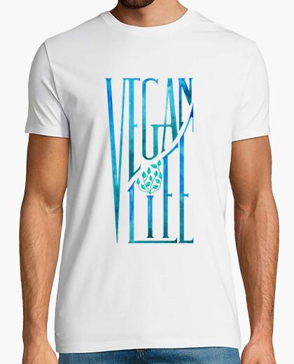 Tee-shirt 1. la vie végétalien (t-shirt)