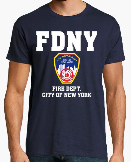 Tee-shirt  T-shirt  fdny mod.01