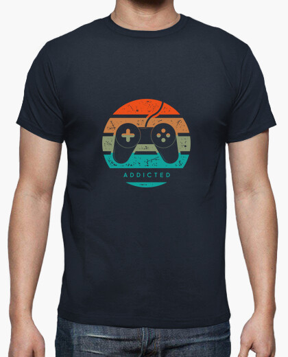 Tee-shirt Addicted jeux video