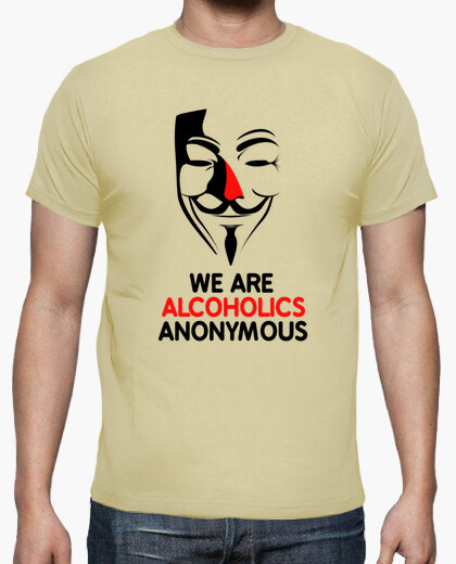 Tee-shirt Alcoholic Anonymous