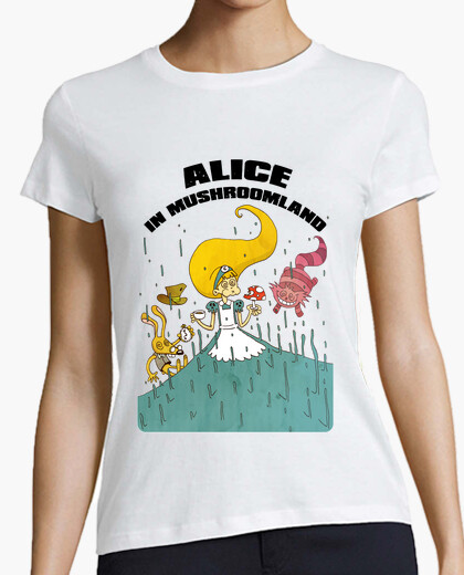 Tee-shirt Alice in Mushroomland