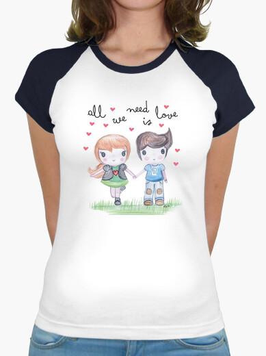 Tee-shirt all vous avez besoin est femme...