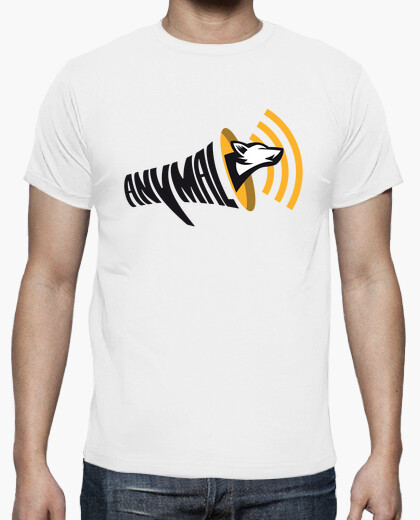 Tee-shirt ANYMAL OFFICIAL - White
