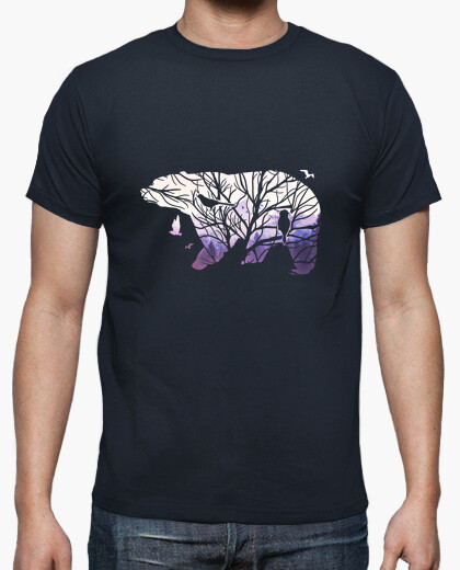 Tee-shirt Arbre-Ours