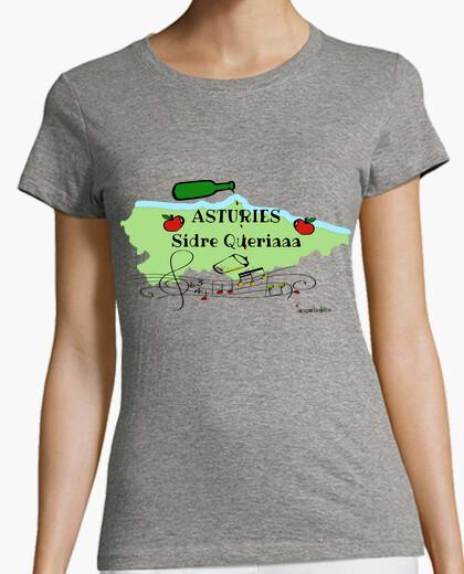 Tee-shirt asturies sidre voulait