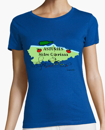 Tee-shirt asturies sidre voulait
