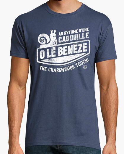 Tee-shirt Au rythme d'une Cagouille (Escargot)