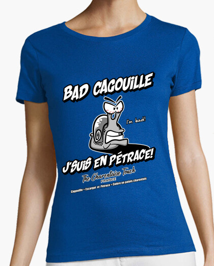 Tee-shirt Bad Cagouille en Pétrace