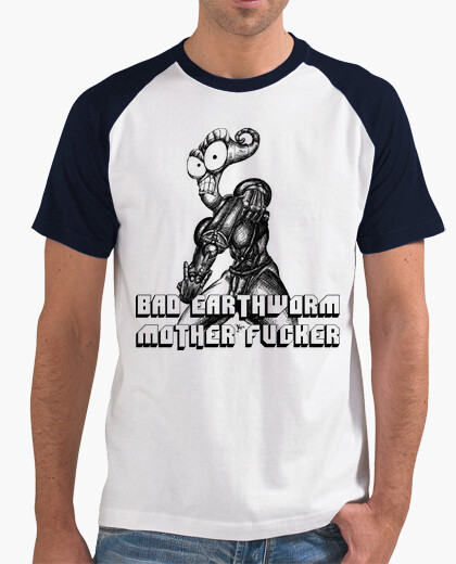 Tee-shirt Bad Earthworm TsBH