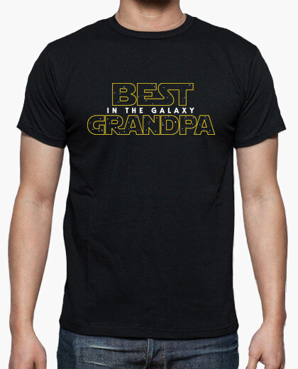 Tee-shirt best gr and pa dans la galaxy sw v2