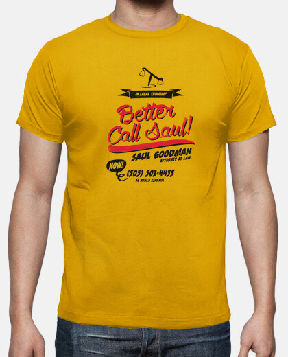 Tee-shirt Better Call Saul