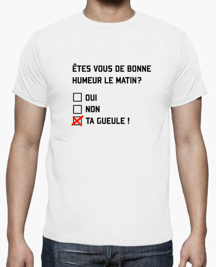 Tee-shirt Bonne humeur 2