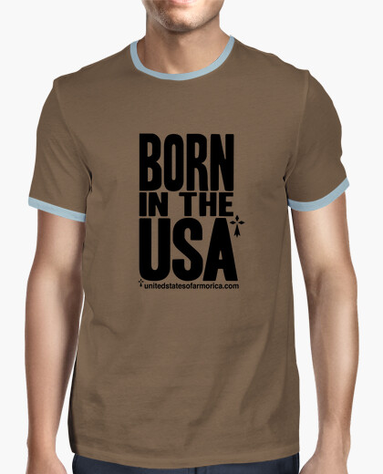 Tee-shirt Born In The USA