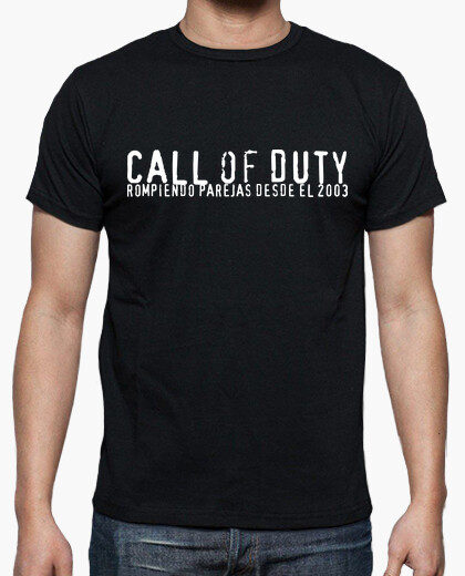 Tee-shirt call of duty