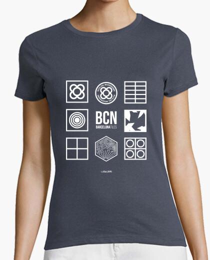 Tee-shirt carreaux de barcelone