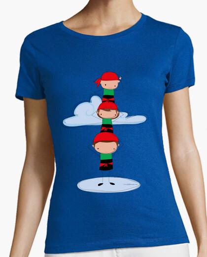 Tee-shirt castellers verts