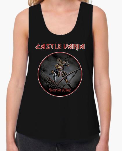 Tee-shirt castlevania & iron maiden
