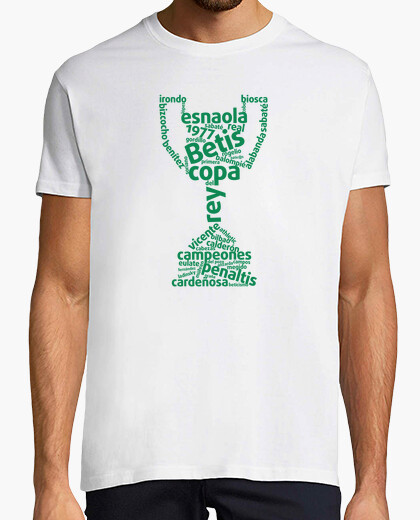Tee-shirt champions coupe 1977