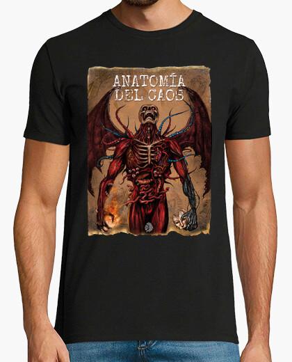 Tee-shirt chaos anatomie couleur