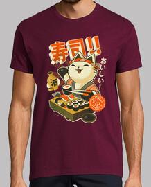 tee-shirt chef sushi