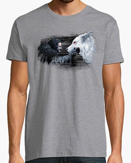 Tee-shirt chemise de neige et fantôme