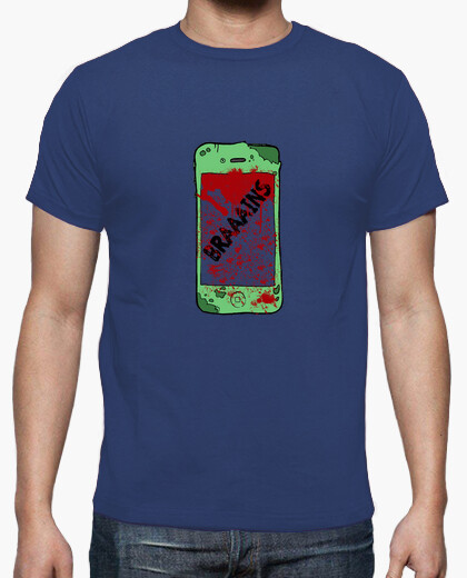 Tee-shirt chemise homme zombiephone