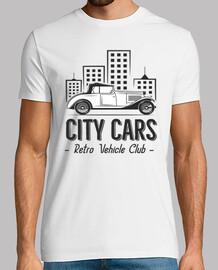 tee-shirt club retro vintage automobile