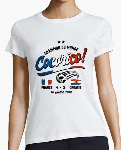 Tee-shirt Cocorico Coupe du Monde 2018