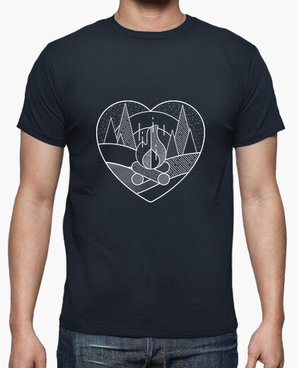 Tee-shirt Coeur Camp