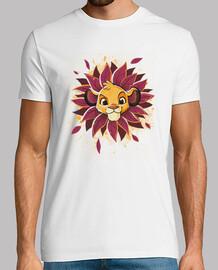 tee-shirt couronne de feuilles