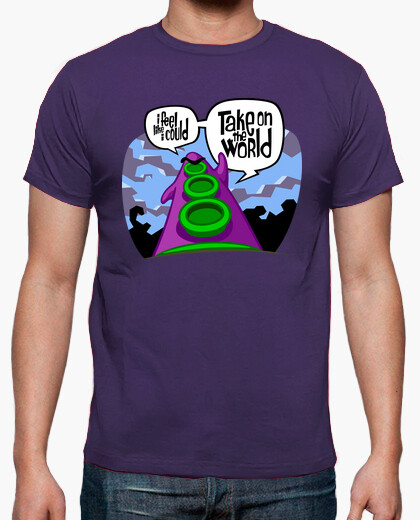 Tee-shirt Day of the Tentacle: Take on the World