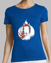 tee-shirt demi-licorne