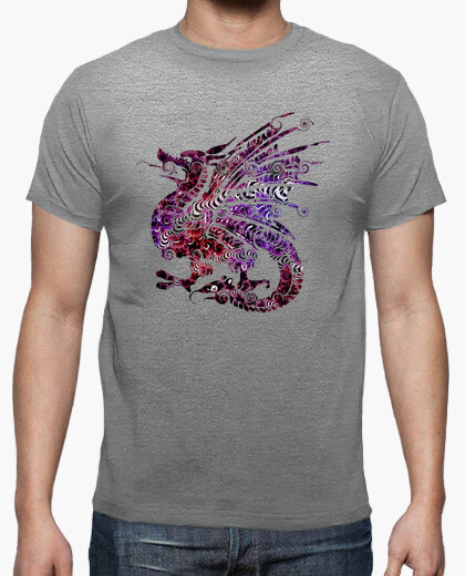 Tee-shirt Dragon couleur