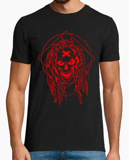 Tee-shirt dreadlocks rouges