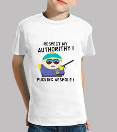 Tee-Shirt enfant - Cartman Respect My Authorithy
