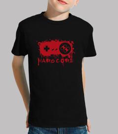 Tee-Shirt Enfant - Hardcore Game Pad