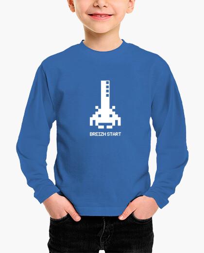 Tee-shirt enfant Breizh start - enfant...