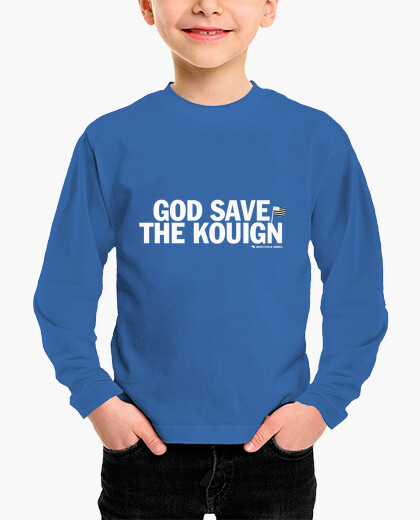 Tee-shirt enfant God Save The Kouign -...