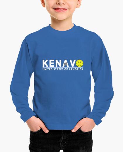 Tee-shirt enfant Kenavo - enfant manche...